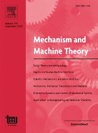 Mechanism and Machine Theory - ISSN 0094-114X