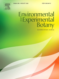 Cover image for Environmental and Experimental Botany