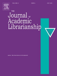 cover of The Journal of Academic Librarianship
