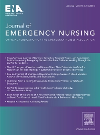 Journal of Emergency Nursing - Elsevier