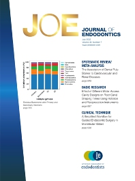 Cover image for Journal of Endodontics