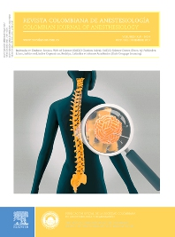 Cover image for Revista Colombiana de Anestesiología