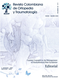 Cover image for Revista Colombiana de Ortopedia y Traumatología