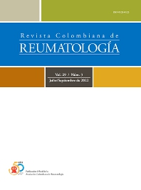 Cover image for Revista Colombiana de Reumatología