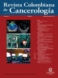 Cover image for Revista Colombiana de Cancerología