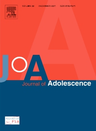 Cover image for Journal of Adolescence