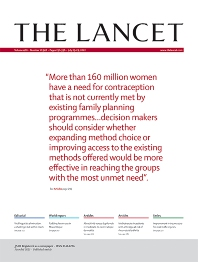Cover image for The Lancet
