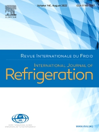Cover image for International Journal of Refrigeration