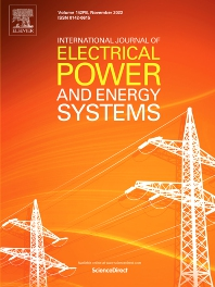 Cover image for International Journal of Electrical Power & Energy Systems