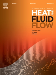 Cover image for International Journal of Heat and Fluid Flow