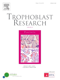 Cover image for Placenta