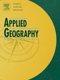 Cover image for Applied Geography