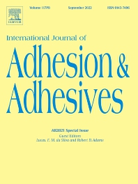 International Journal of Adhesion and Adhesives - ISSN 0143-7496