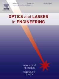 Cover image for Optics and Lasers in Engineering