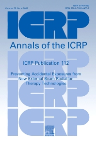 Cover image for Annals of the ICRP