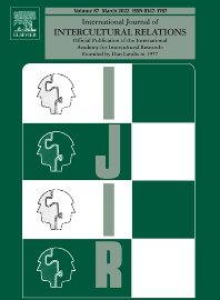 International Journal of Intercultural Relations - ISSN 0147-1767