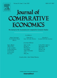 Journal of Comparative Economics - ISSN 0147-5967