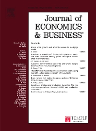 Journal of Economics and Business - ISSN 0148-6195