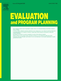 Evaluation and Program Planning - Journal - Elsevier