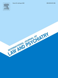 Cover image for International Journal of Law and Psychiatry