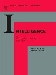 Intelligence - ISSN 0160-2896
