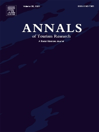 Cover image for Annals of Tourism Research