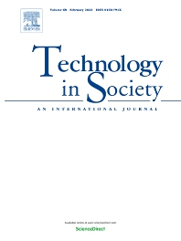 Cover image for Technology in Society