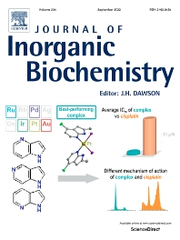 Cover image for Journal of Inorganic Biochemistry