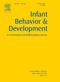 Infant Behavior and Development - ISSN 0163-6383