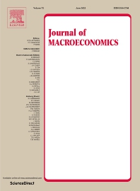 Cover image for Journal of Macroeconomics