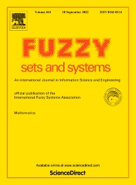 Cover image for Fuzzy Sets and Systems