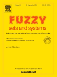 Fuzzy Sets and Systems - ISSN 0165-0114