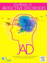 Cover image for Journal of Affective Disorders