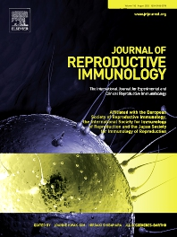 Cover image for Journal of Reproductive Immunology