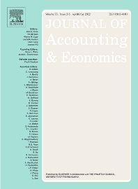 Journal of Accounting and Economics - ISSN 0165-4101
