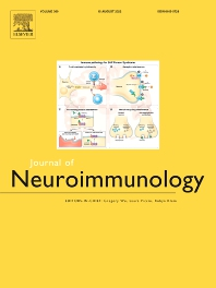 Cover image for Journal of Neuroimmunology