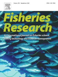 Cover image for Fisheries Research