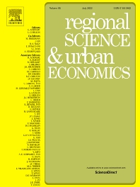 Cover image for Regional Science and Urban Economics