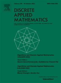 Discrete Applied Mathematics - ISSN 0166-218X