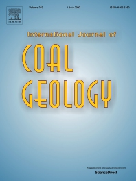cover of International Journal of Coal Geology