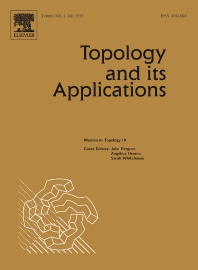 Cover image for Topology and its Applications