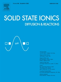 Cover image for Solid State Ionics