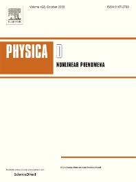 Cover image for Physica D: Nonlinear Phenomena