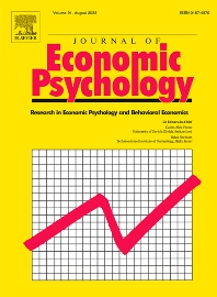Journal of Economic Psychology - ISSN 0167-4870