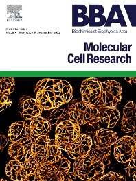 cover of Biochimica et Biophysica Acta: Molecular Cell Research