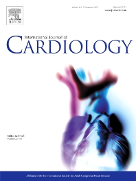 Cover image for International Journal of Cardiology