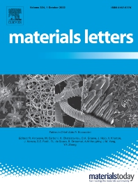 Cover image for Materials Letters