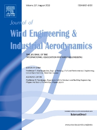 Cover image for Journal of Wind Engineering and Industrial Aerodynamics
