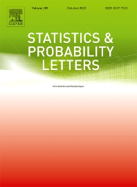 Statistics & Probability Letters - ISSN 0167-7152