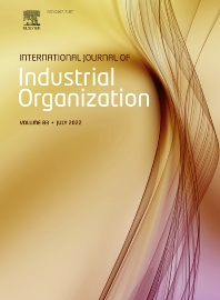 International Journal of Industrial Organization - ISSN 0167-7187